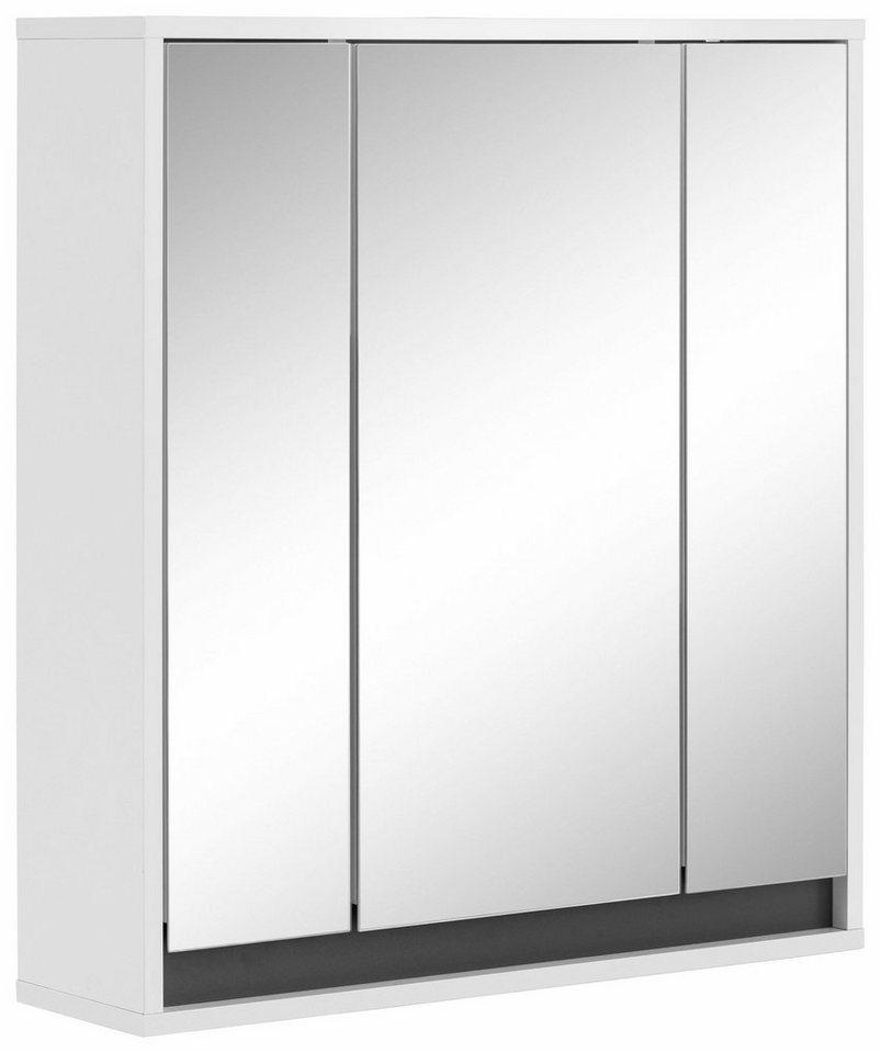 Welltime Spiegelschrank »Sol« in weiß