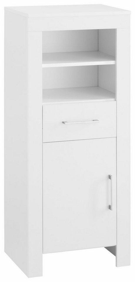 Midischrank »Zingst« in weiß/weiß