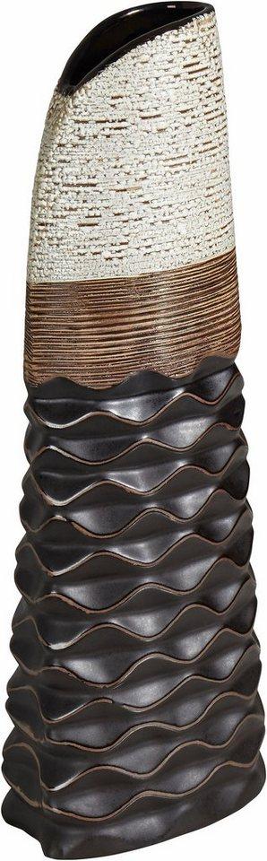 Home affaire Vase in braun