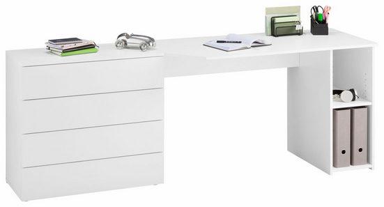 borchardt Möbel Schreibtisch »Wallis«, mit Push to Open-Funktion