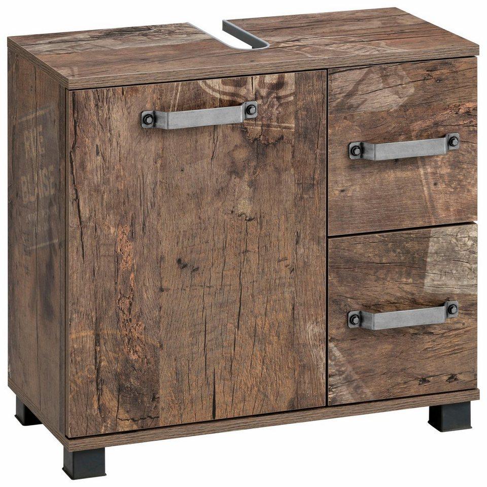 schildmeyer waschbeckenunterschrank milan t r mit anschlagd mpfern online kaufen otto. Black Bedroom Furniture Sets. Home Design Ideas