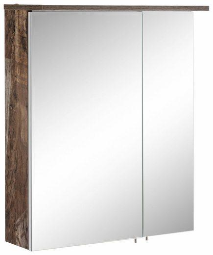 Schildmeyer Spiegelschrank »Profil 16« mit LED-Beleuchtung und Glaseinlegeböden