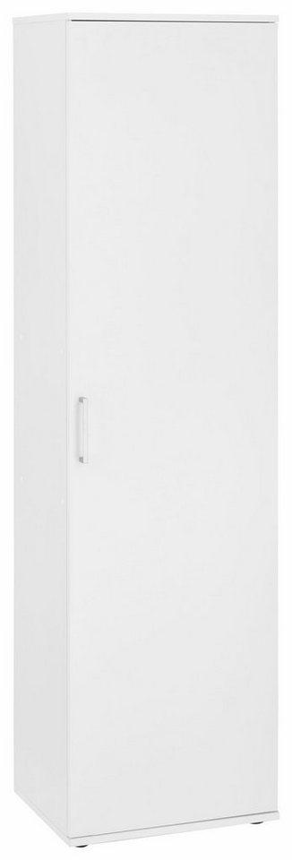 Mehrzweckschrank »Dom«, Breite 50 cm in weiß/weiß