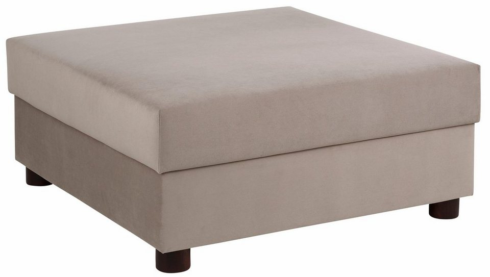 Home affaire Hocker »Jasmin« in taupe