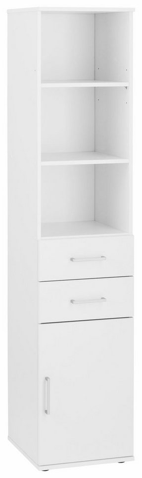 Mehrzweckschrank »Dom«, Breite 40 cm in weiß/weiß