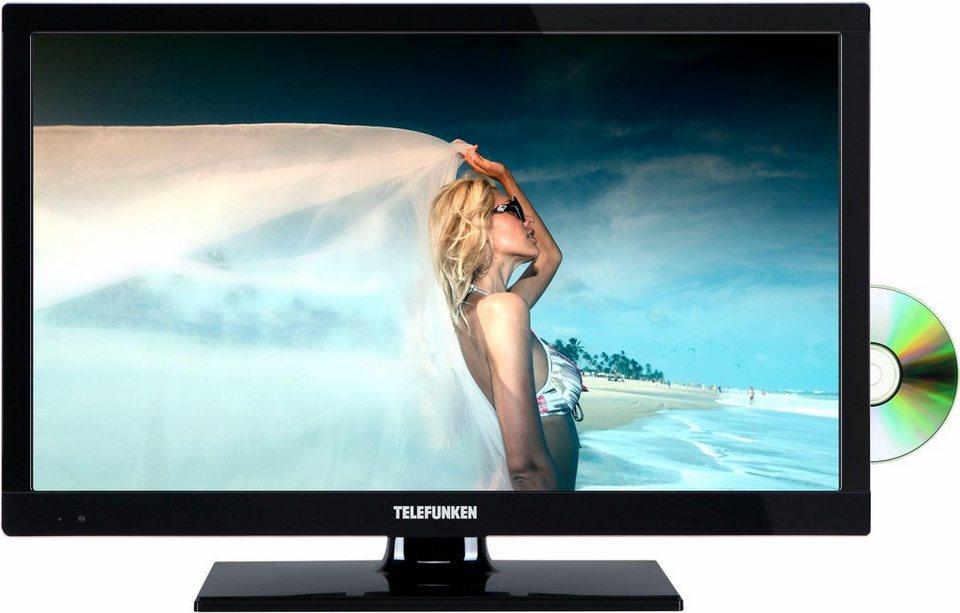 Telefunken L24H283M4D, LED Fernseher, 61 cm (24 Zoll) in schwarz