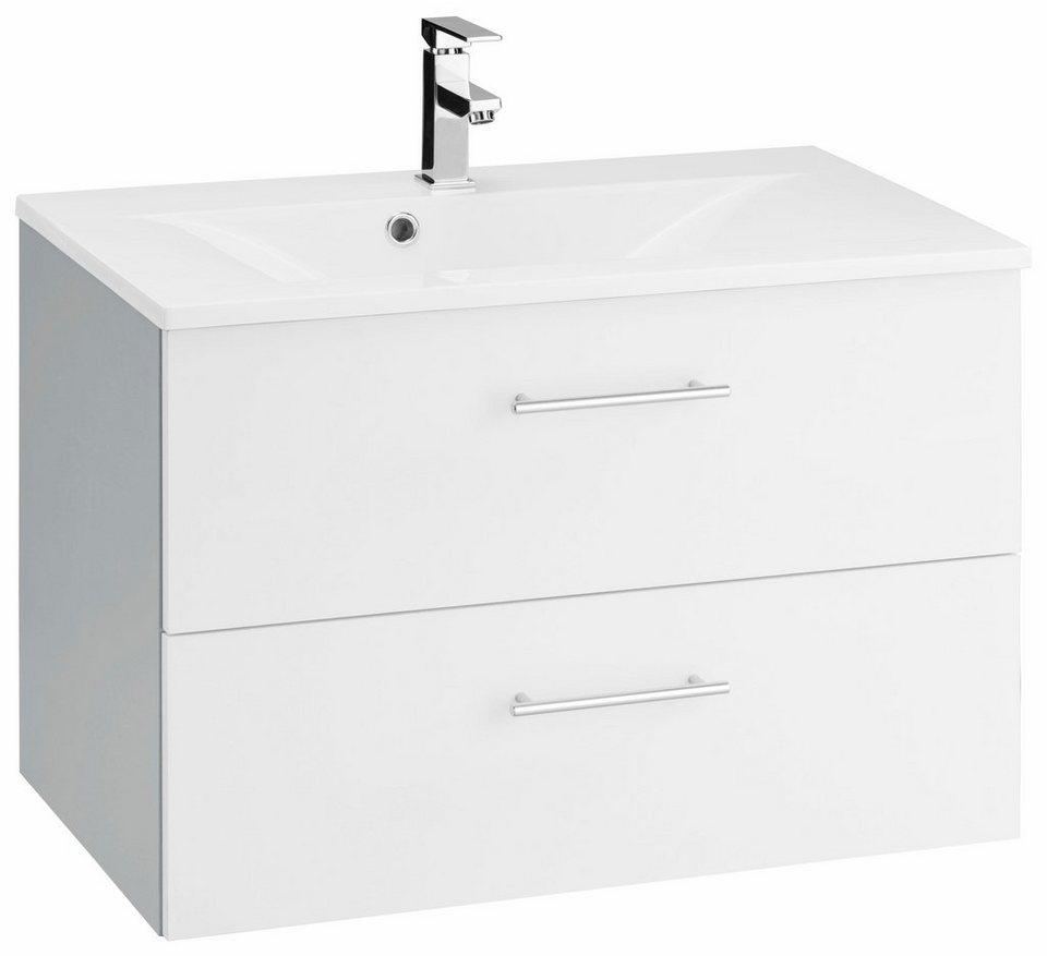 Kesper Waschtisch »Soltau« in alufarben/weiß