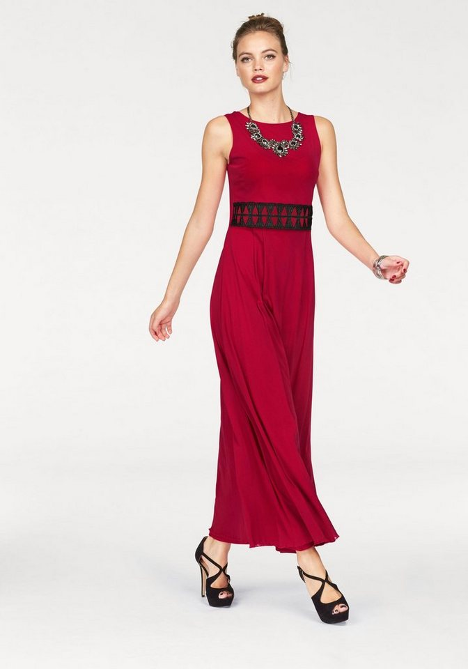 Melrose Abendkleid in rot
