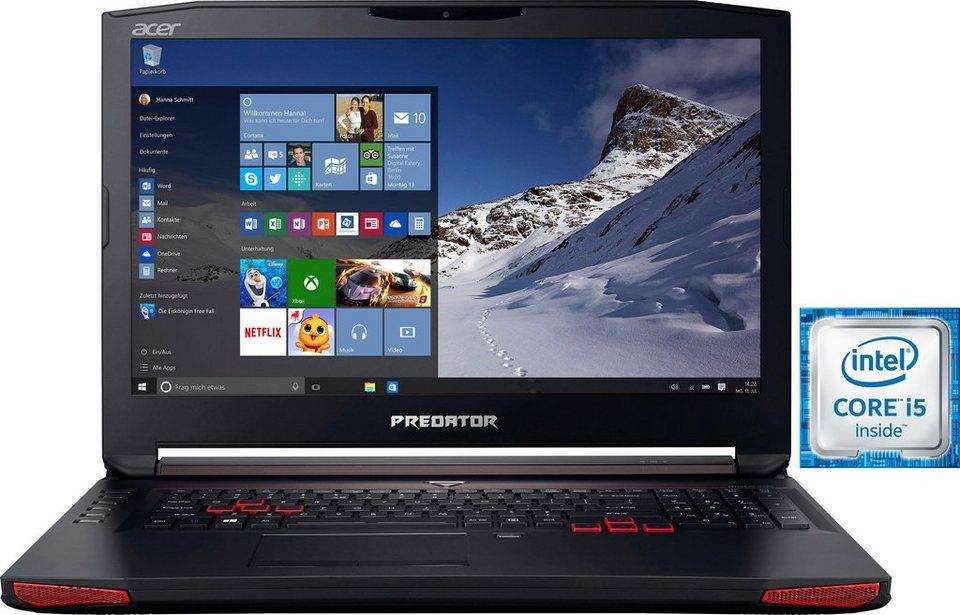 Acer Predator G5-793-53FA Notebook, Intel® Core™ i5, 43,9 cm (17,3 Zoll), 1256 GB Speicher in schwarz
