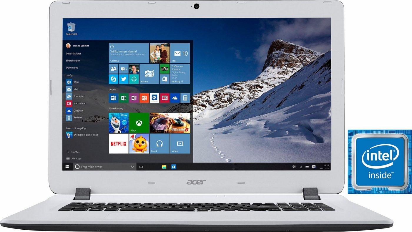 Acer ES1-732-P Notebook, Intel® Pentium™, 43,9 cm (17,3 Zoll), 1000 GB Speicher, 8192 MB DDR3L