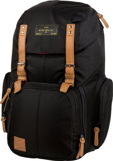 NITRO Laptoprucksack »Weekender true black«