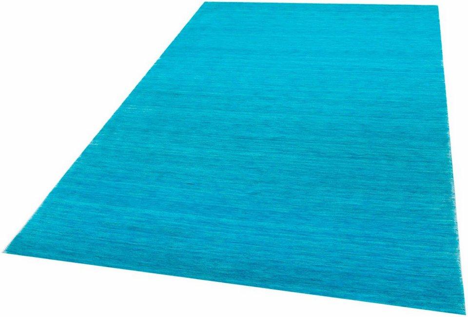 Teppich läufer türkis  Teppich »Loom Lori«, Parwis, rechteckig, Höhe 15 mm online kaufen ...