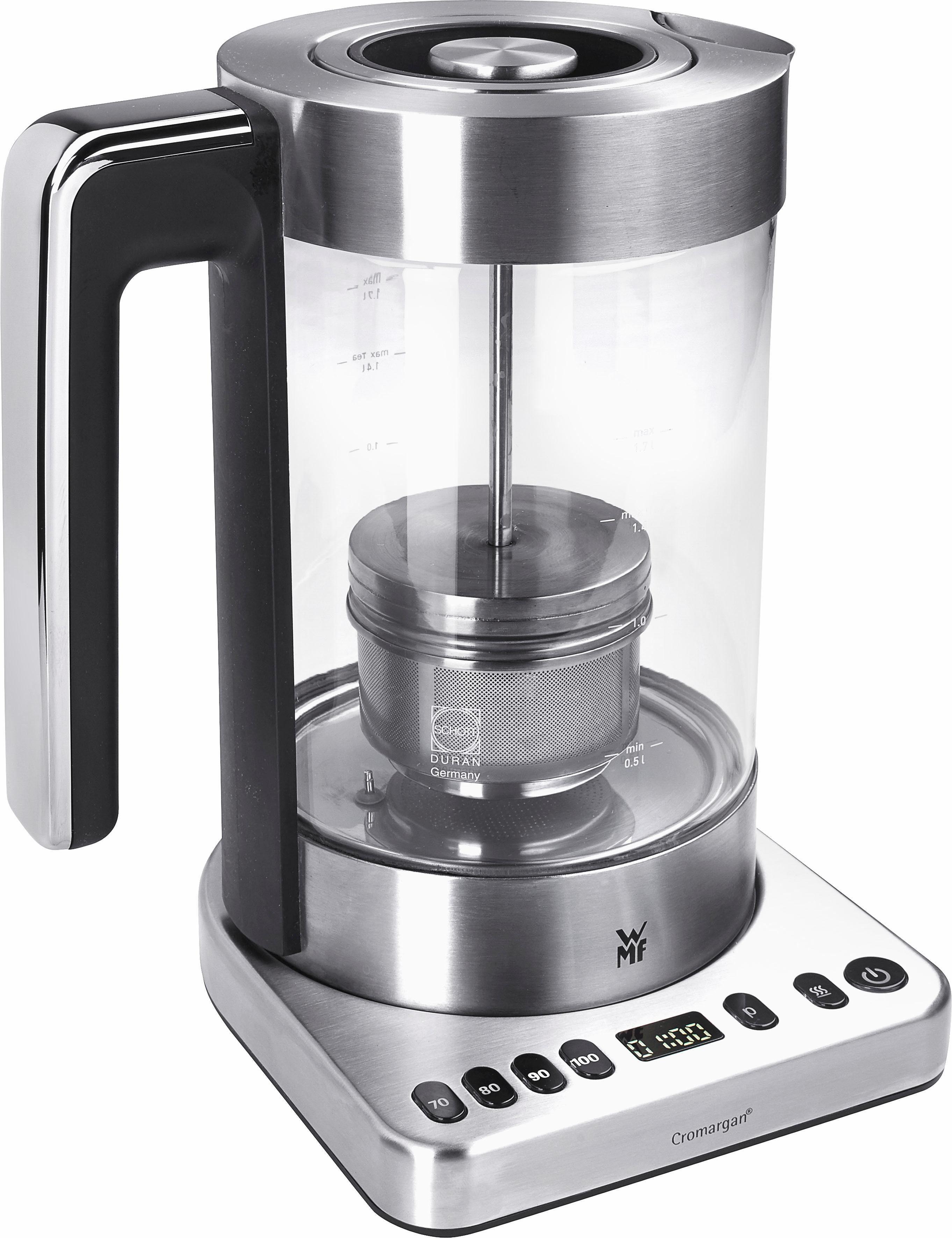 WMF LONO Tee- und Wasserkocher 2in1, 1,7 Liter, 3000 Watt