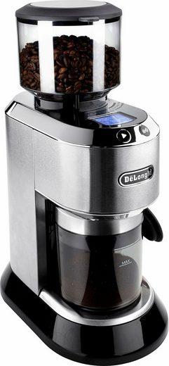 De'Longhi Kaffeemühle Dedica KG521.M, 150 W, Kegelmahlwerk, 350 g Bohnenbehälter, inkl. Siebträgeradapter