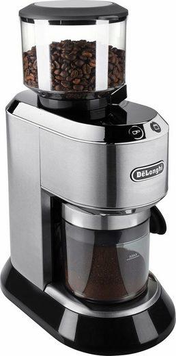 De'Longhi Kaffeemühle Dedica KG520.M, 150 W, Kegelmahlwerk, 350 g Bohnenbehälter, inkl. Siebträgeradapter