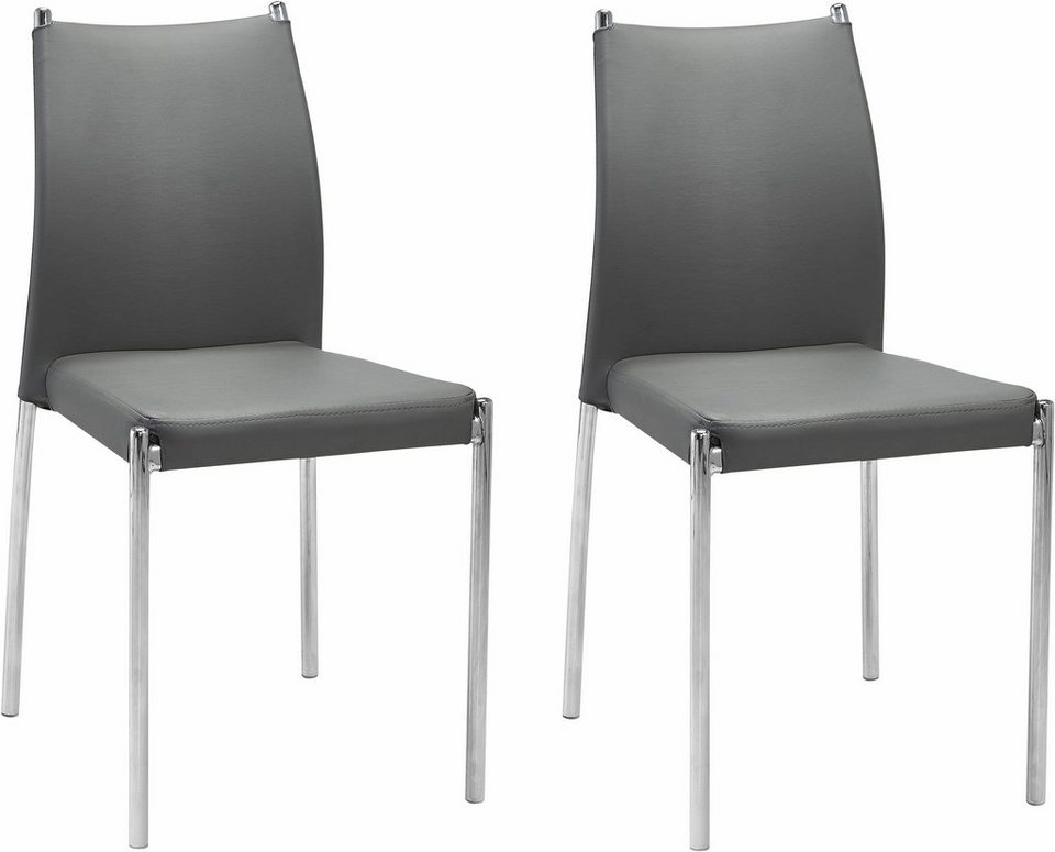 Freischwinger (2 oder 4 Stück) in Grau