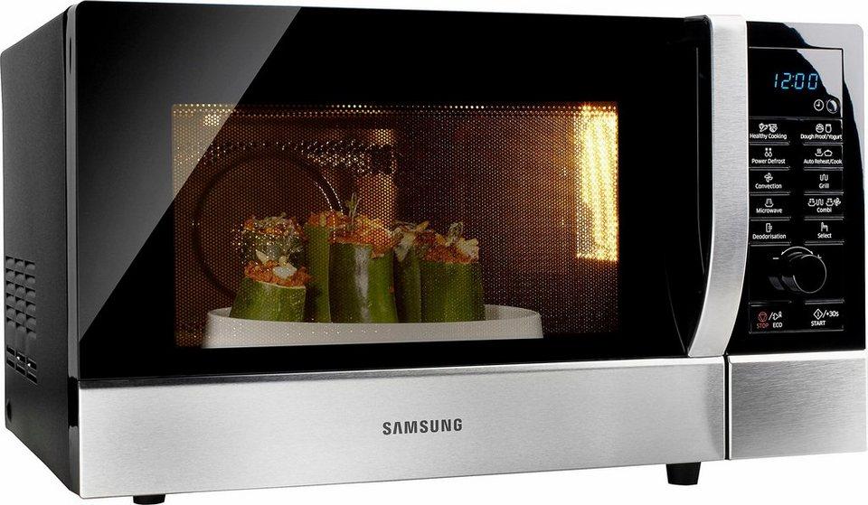 samsung mikrowelle ce109mtst1 mit grill und hei luft 28 liter. Black Bedroom Furniture Sets. Home Design Ideas