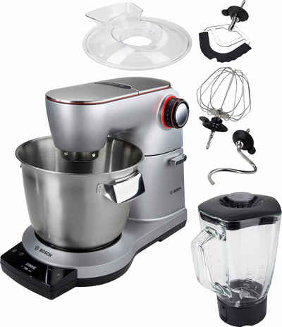 BOSCH Küchenmaschine OptiMUM MUM9DT5S41, 1500 W, 5,5 l Schüssel, extrastarker 1500-Watt-Motor