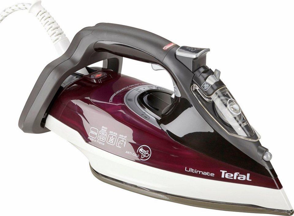 Tefal Dampfbügeleisen FV9740 Ultimate Anticalc, 2800 W, selbstreinigende  AUTOCLEAN-Bügelsohle online kaufen | OTTO