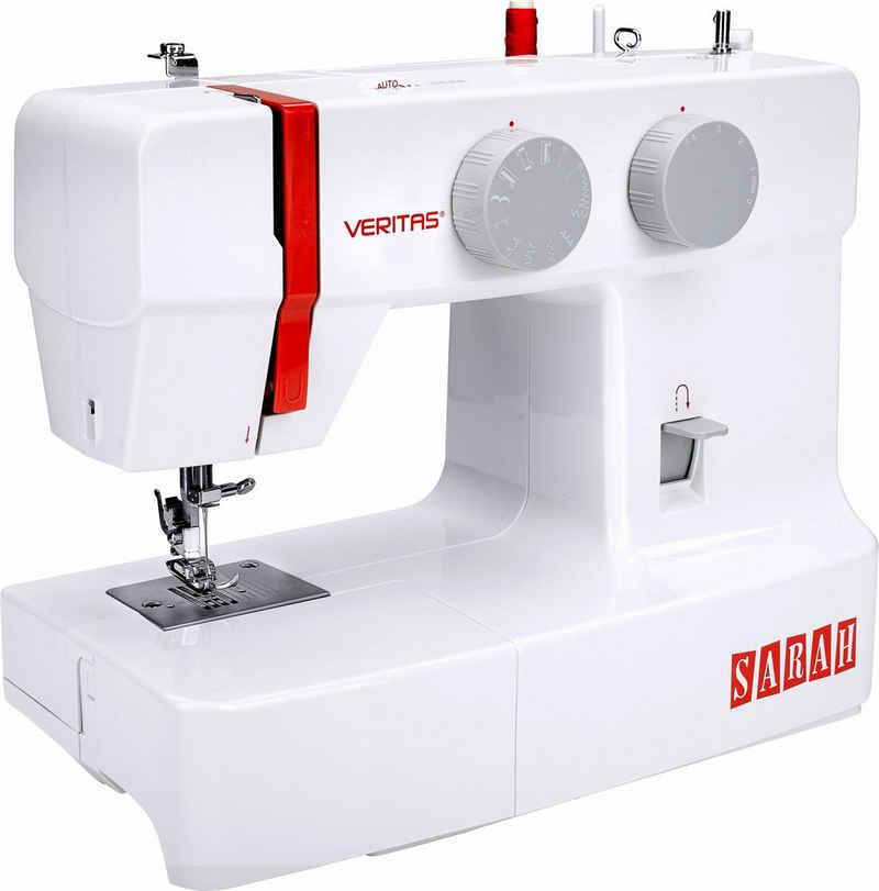 Veritas Nähmaschine Sarah, 13 Programme, 4-Stufen-Knopflochautomatik