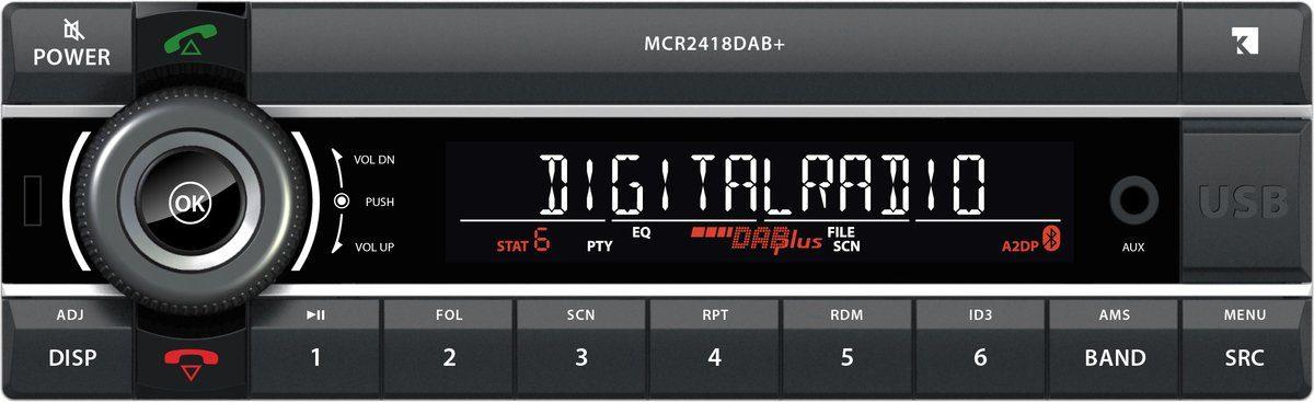 Axion Autoradio »1DIN 24V Truckradio MCR 2418 DAB+«