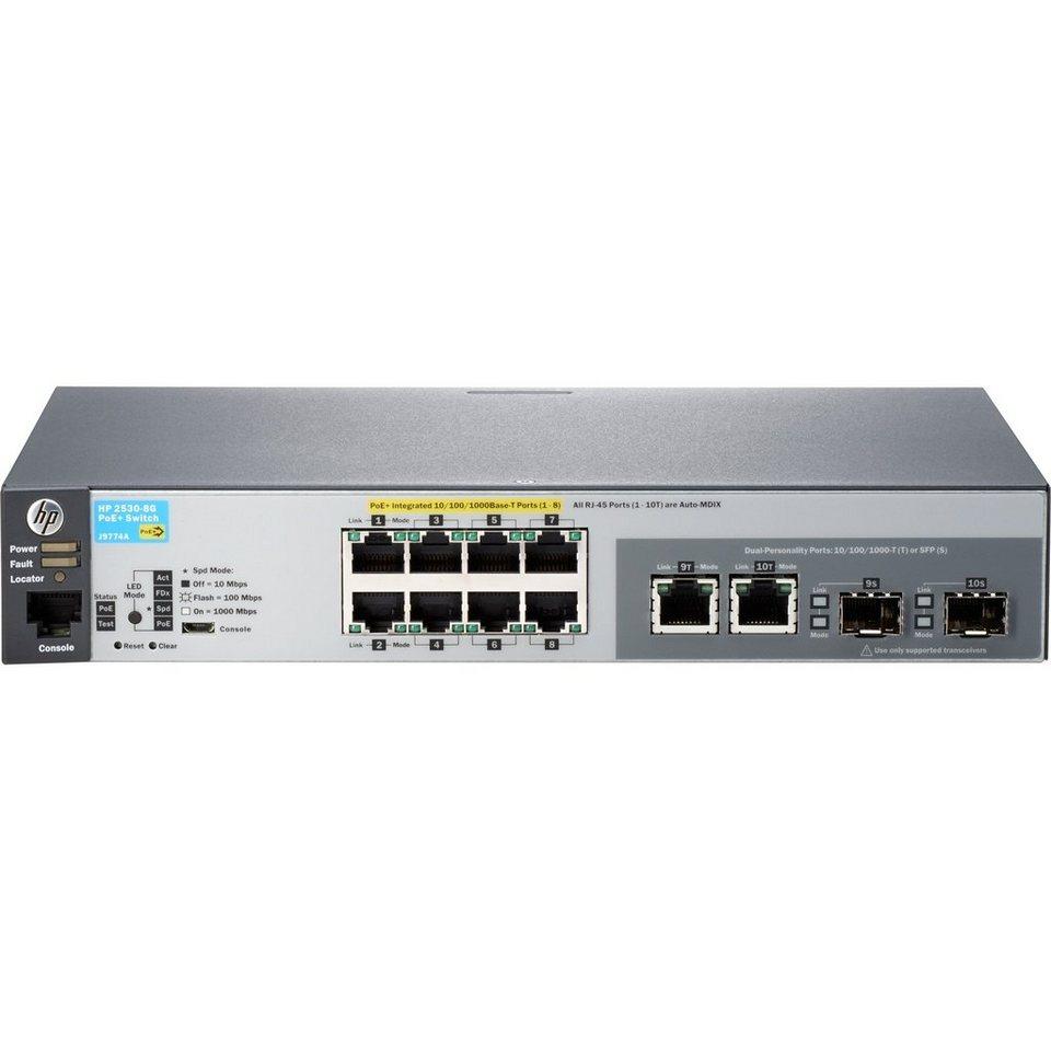 Hewlett-Packard Switch »2530-8G-PoE+ (J9774A)«