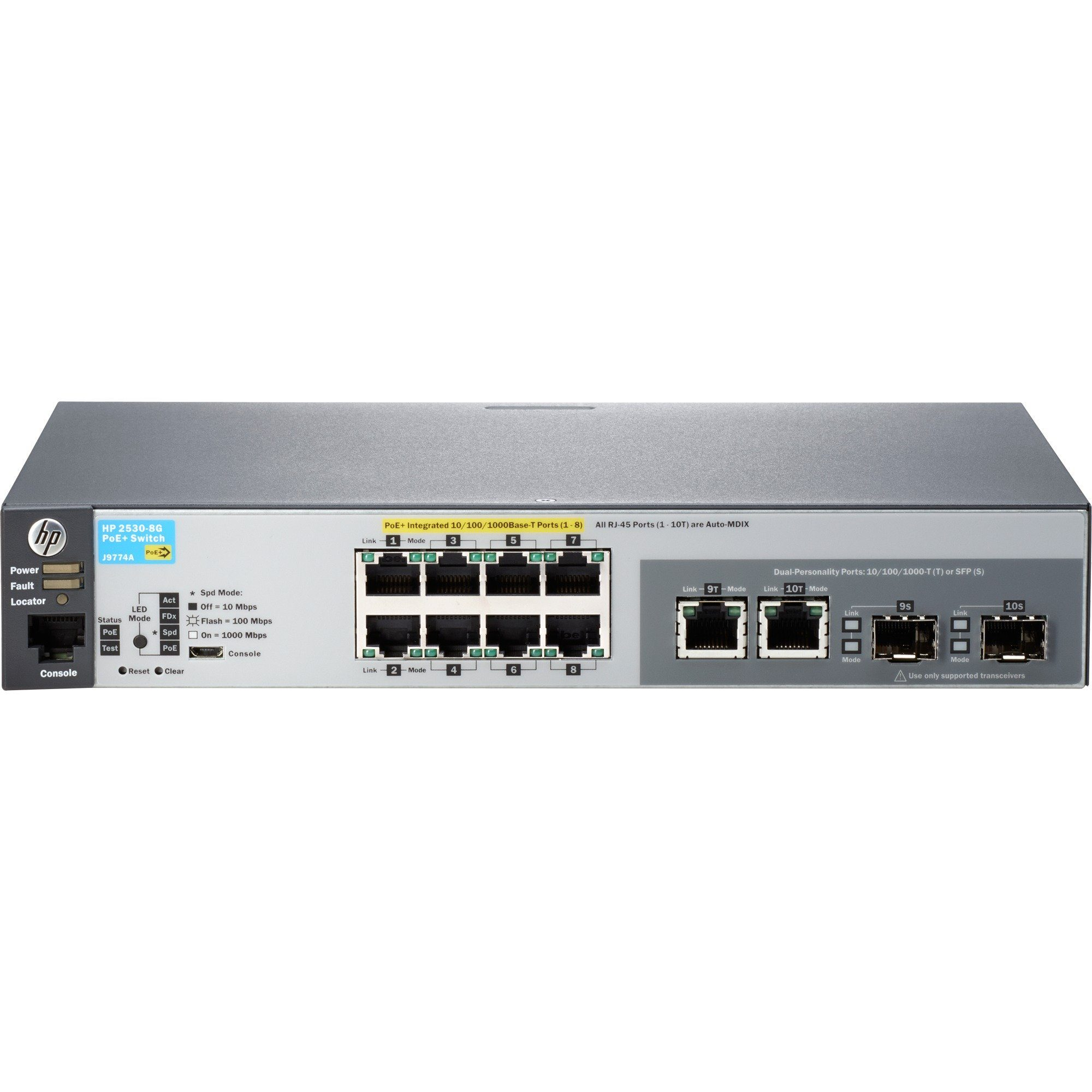 Hewlett-Packard Switch »2530-8G-PoE+ (J9774A)«