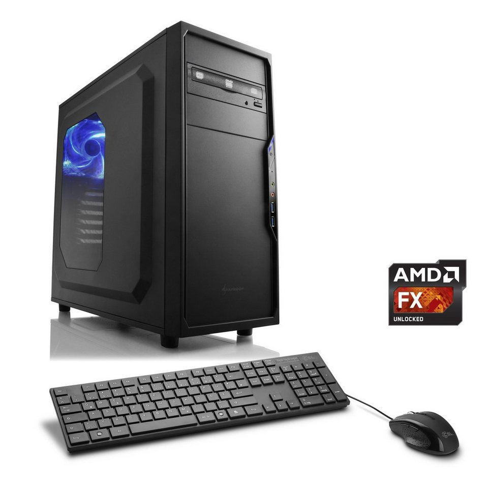 CSL Multimedia PC | AMD FX-8370E | Radeon R5 230 | 8 GB RAM »Sprint T6822 Windows 10 Home«