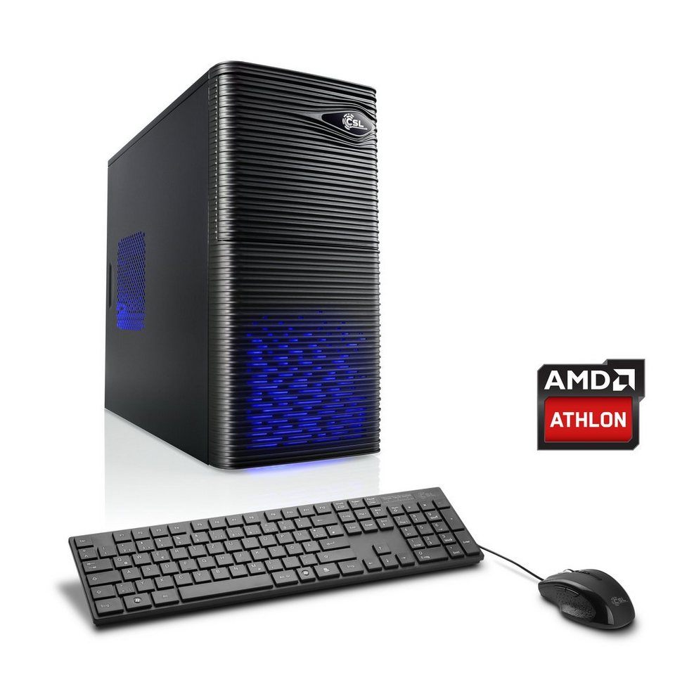 CSL Gaming PC | AMD Athlon X4 880K | AMD RX 460 | 8 GB RAM »Sprint T4812 Windows 10 Home«
