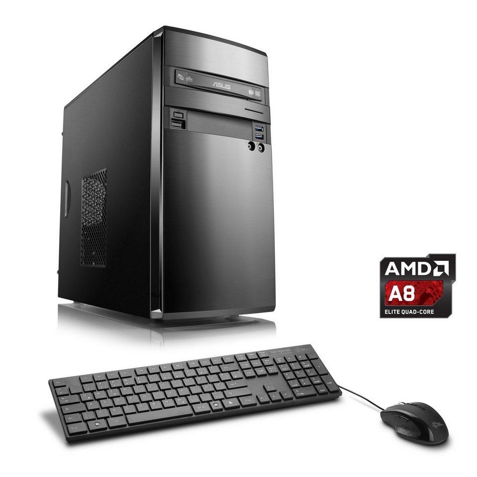CSL Multimedia PC | AMD A8-7600 | AMD Radeon R7 | 8 GB RAM »Sprint T4834 Windows 10 Home« in schwarz