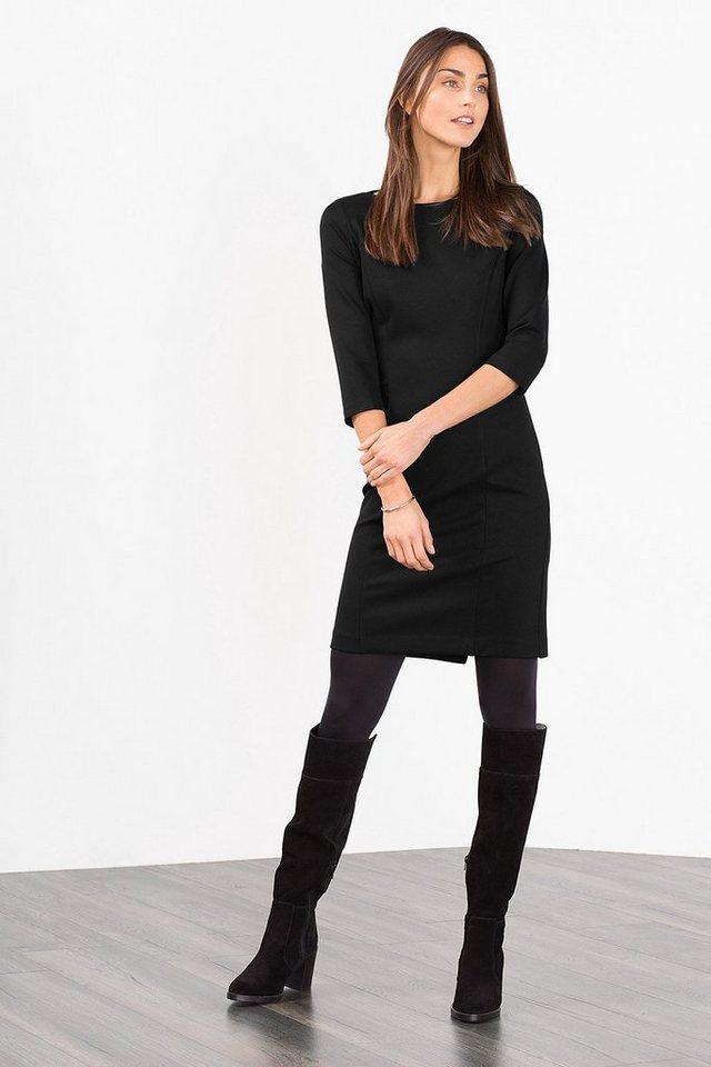 ESPRIT CASUAL Kleid aus festerem Jersey/Stretch in BLACK