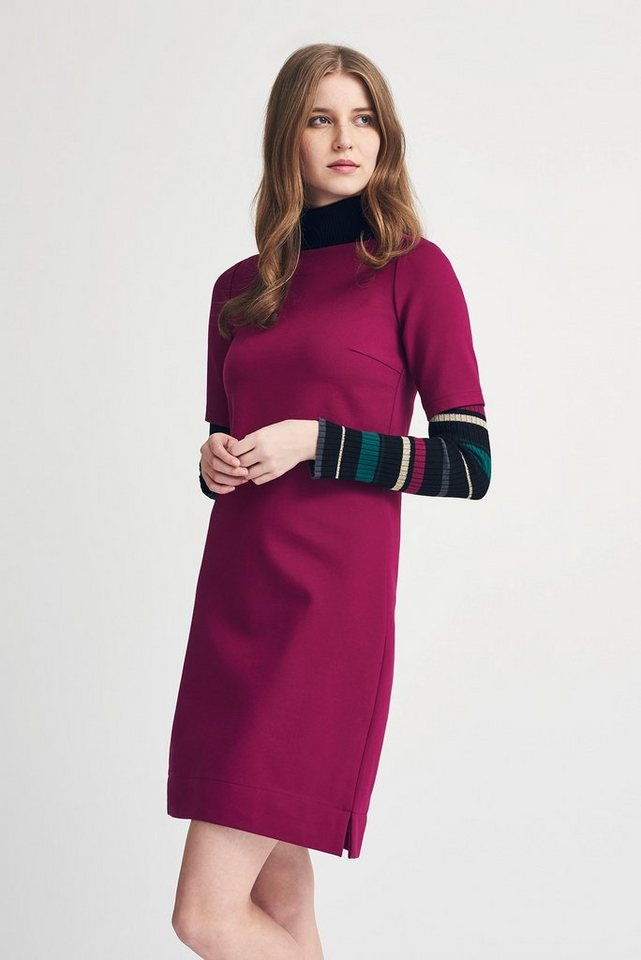 MORE&MORE Jerseykleid in rosa