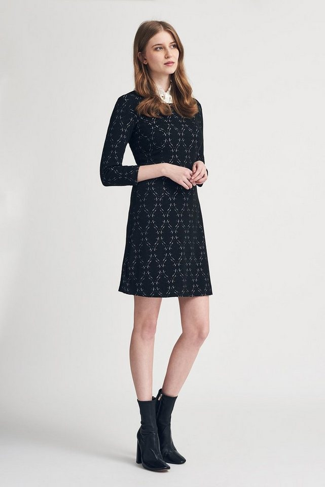 MORE&MORE Jacquard-Kleid, Jersey in wie Farbmuster