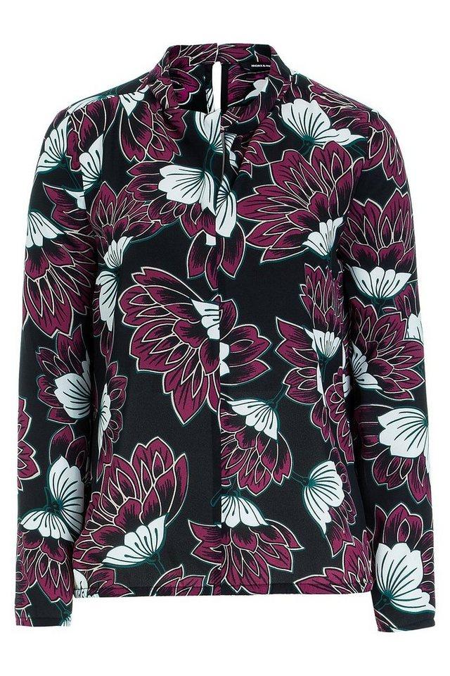 MORE&MORE Bluse, Flowerprint in wie Farbmuster