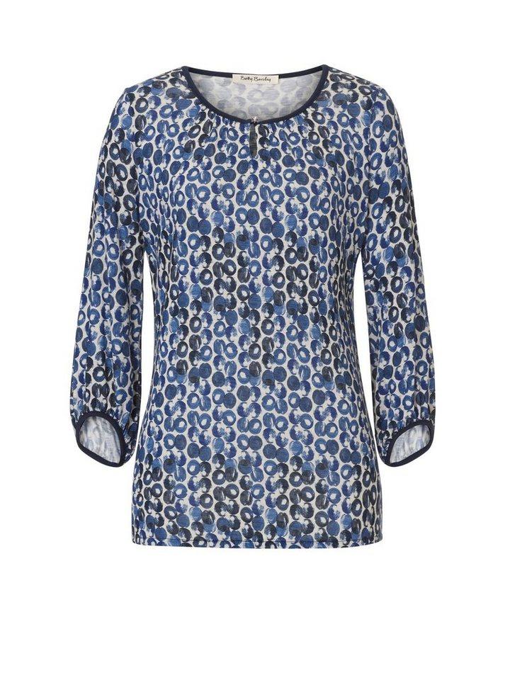 Betty Barclay Shirt in Beige/Blau - Braun