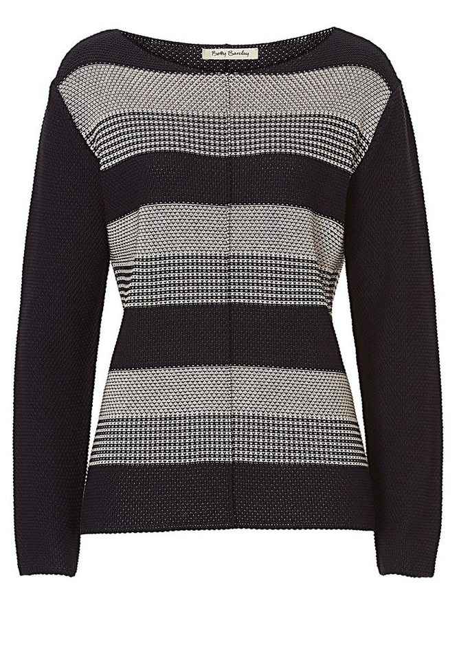 Betty Barclay Strickpullover in Dark Blue/Beige - Bu