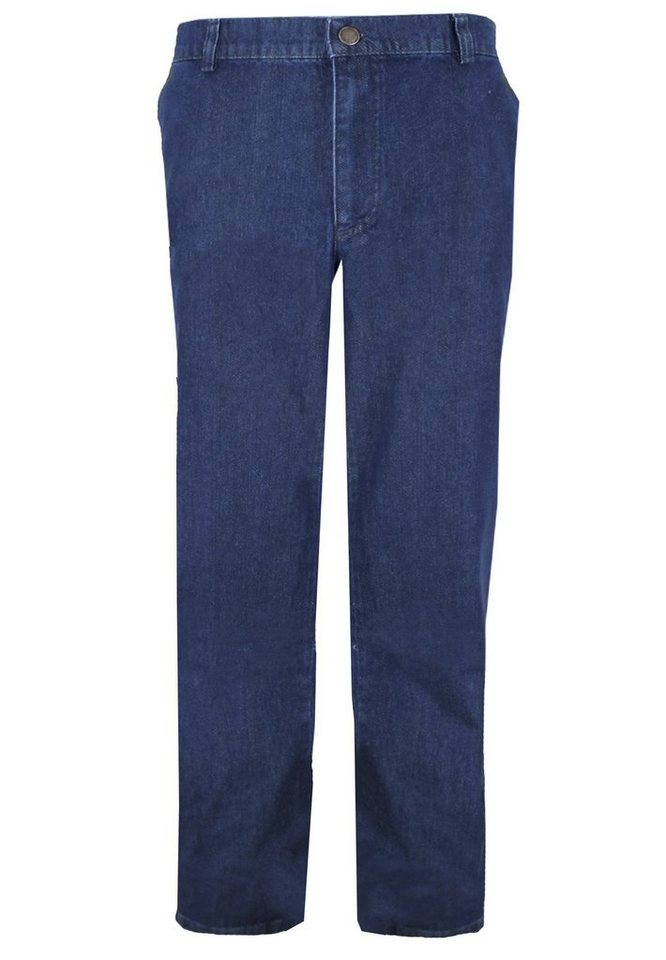 "melvinsi fashion Chino Stretch Jeans Stretch 34"" in Blue Stone Washed"