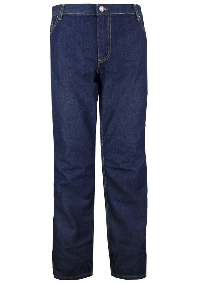 "melvinsi fashion Jeans Stretch 34"" in Blue Stone Washed"