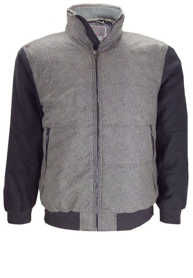 melvinsi fashion Winterjacke in Grau Melange