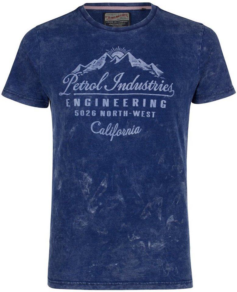 Petrol Industries T-Shirt in dark indigo