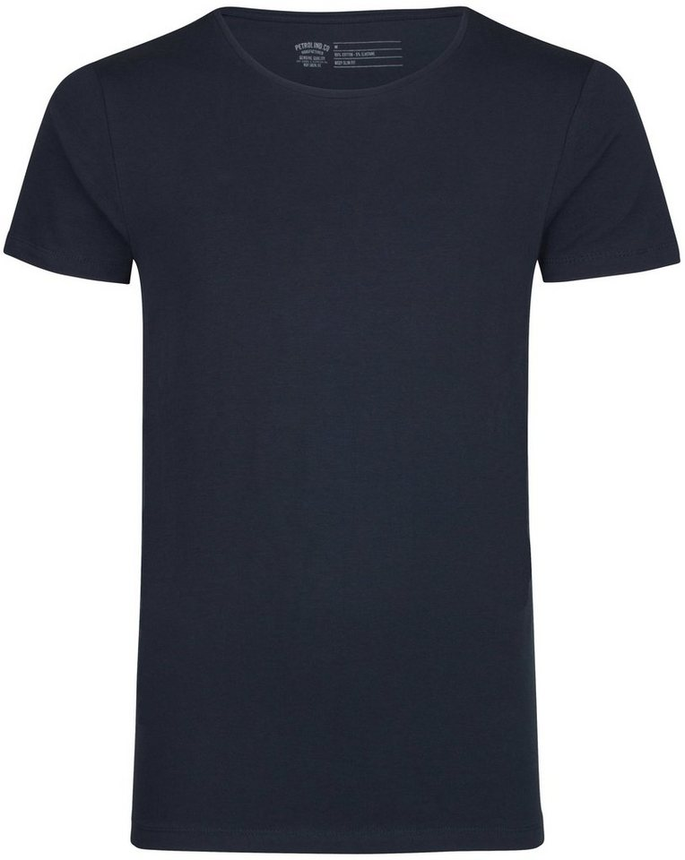 Petrol Industries 2er-Pack T-Shirts in deep navy