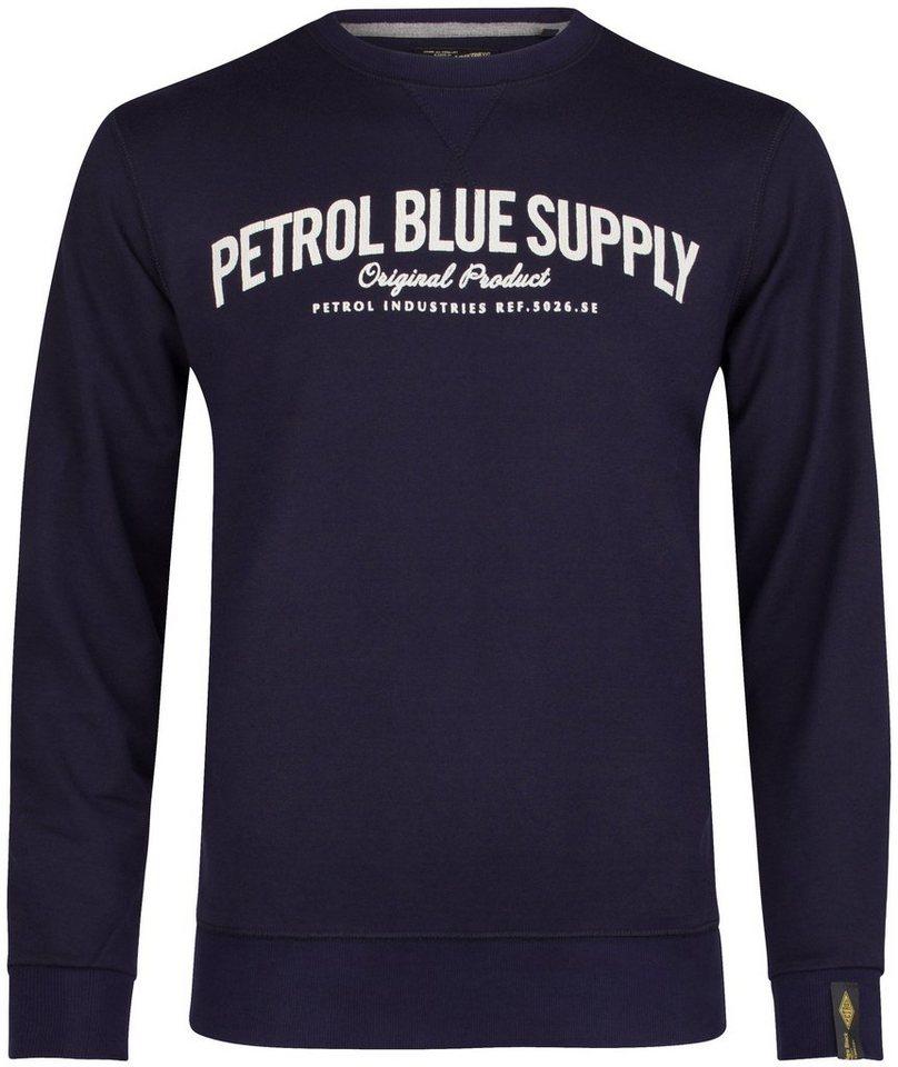 Petrol Industries Sweatshirt in dark indigo