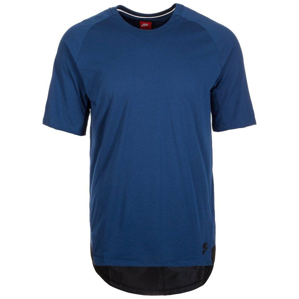Nike Sportswear Bonded T-Shirt Herren in blau / schwarz