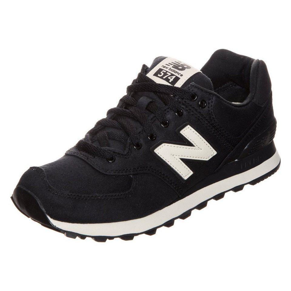 NEW BALANCE WL574-MDB-B Sneaker Damen in schwarz