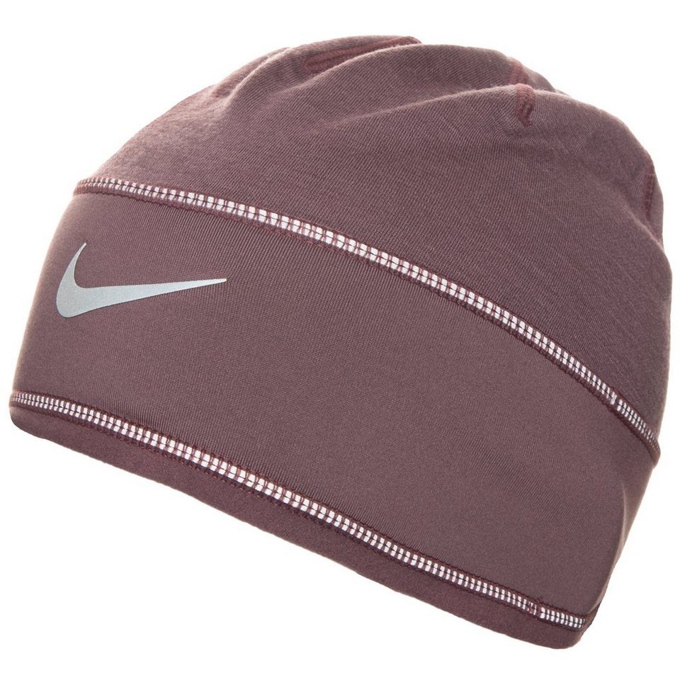 NIKE Skully Run Beanie Damen in lila / silber