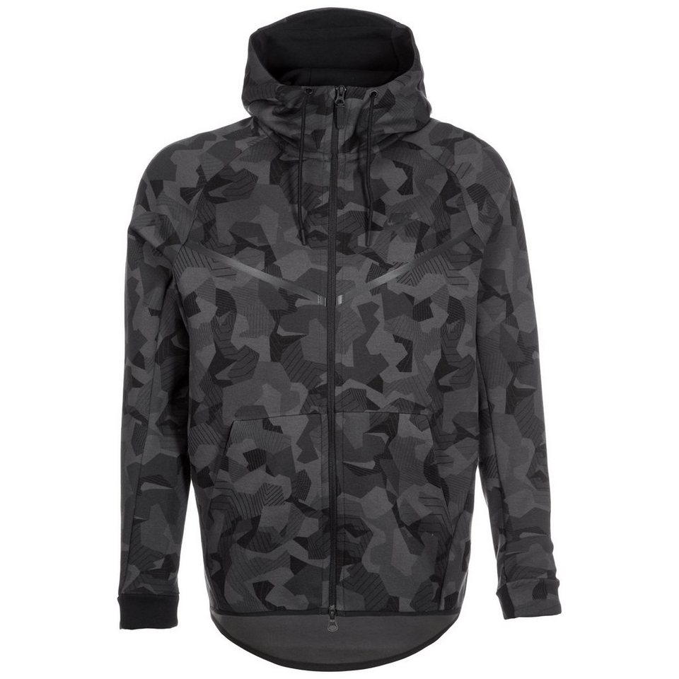 Nike Sportswear Tech Fleece Windrunner Kapuzenjacke Herren in schwarz / anthrazit