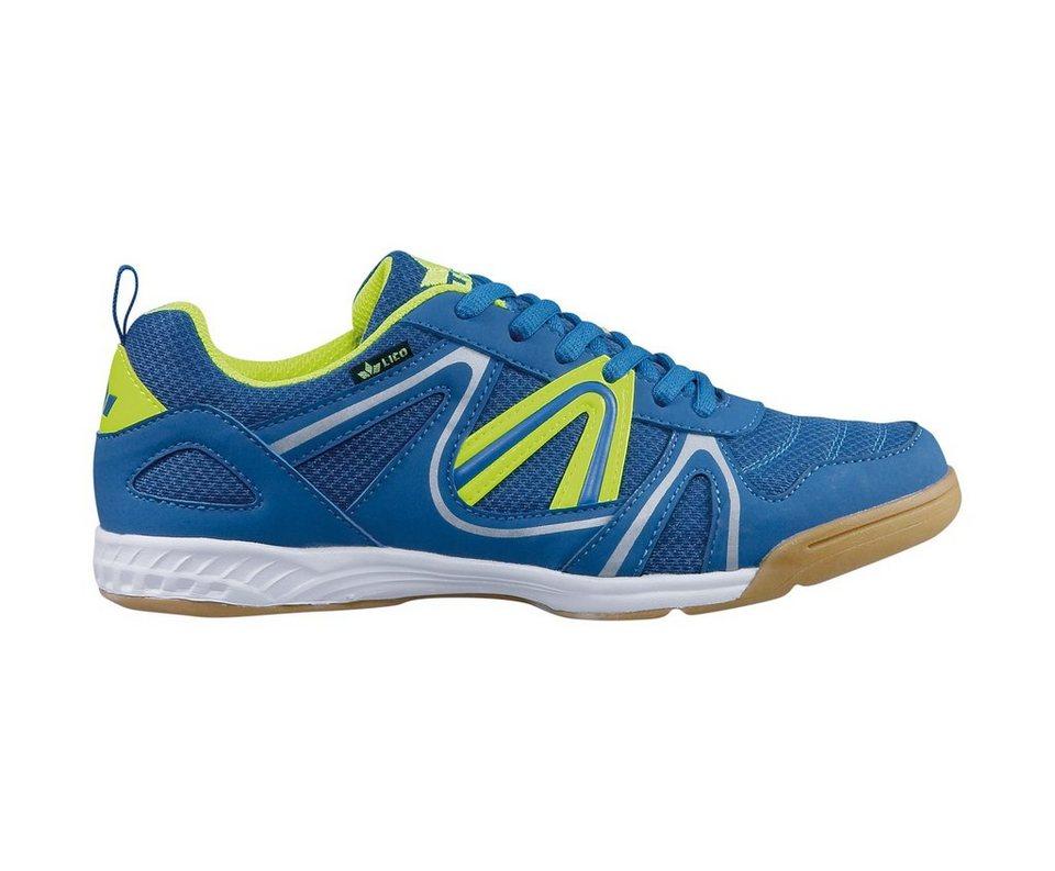 LICO Sportschuh »Fit Indoor« in blau/lemon
