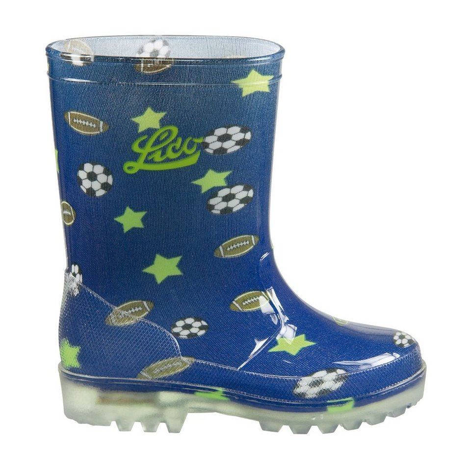 LICO Gummistiefel »Powerlight« in blau