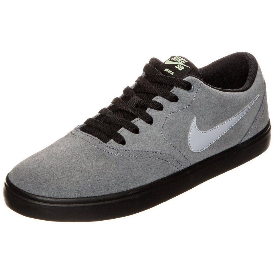 NIKE Check Solarsoft Sneaker Herren in grau / schwarz