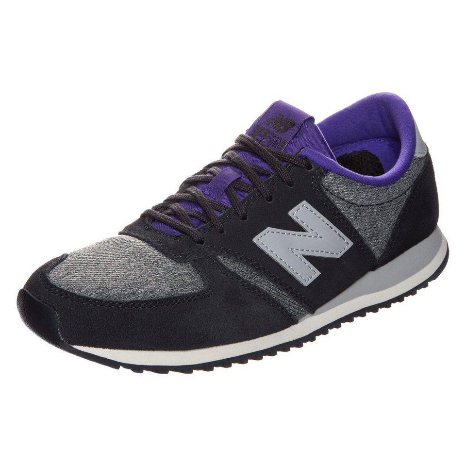 NEW BALANCE WL420-LPC-B Sneaker Damen in schwarz / lila